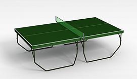 兵乓球案3d模型