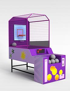 3d投篮机模型