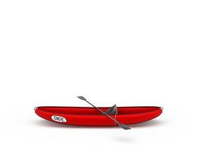 3d<font class='myIsRed'>紅色</font>皮筏艇免費模型