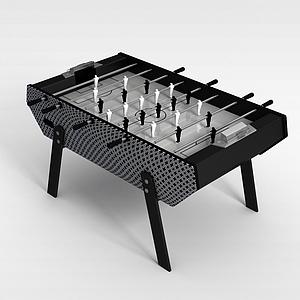 3d足球桌游模型