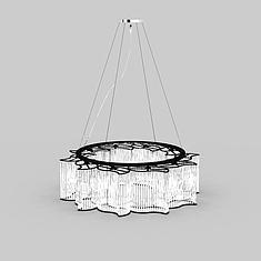 水晶吊灯3D模型3d模型