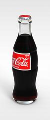 瓶装可口可乐模型3d模型