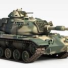军事坦克车模型