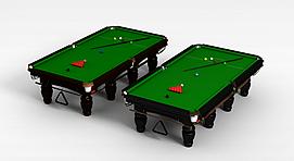 美式台球桌3d模型