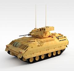 遥控坦克车模型3d模型