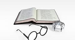 英文笔记本模型3d模型