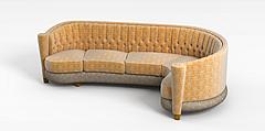 环形沙发模型3d模型