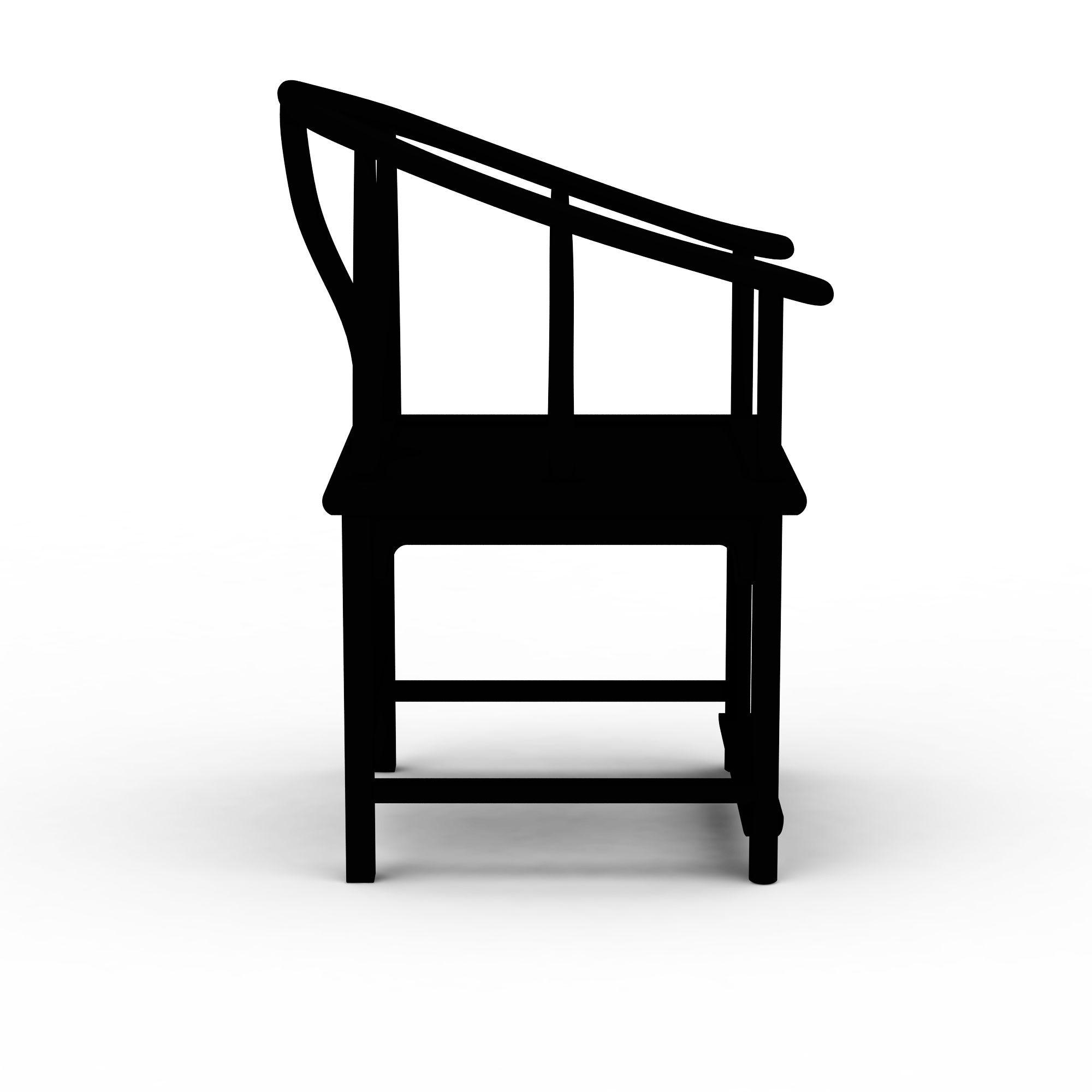 椅 中式椅子3d模型 中式椅子png高清图  中式椅子高清图详情 设计师