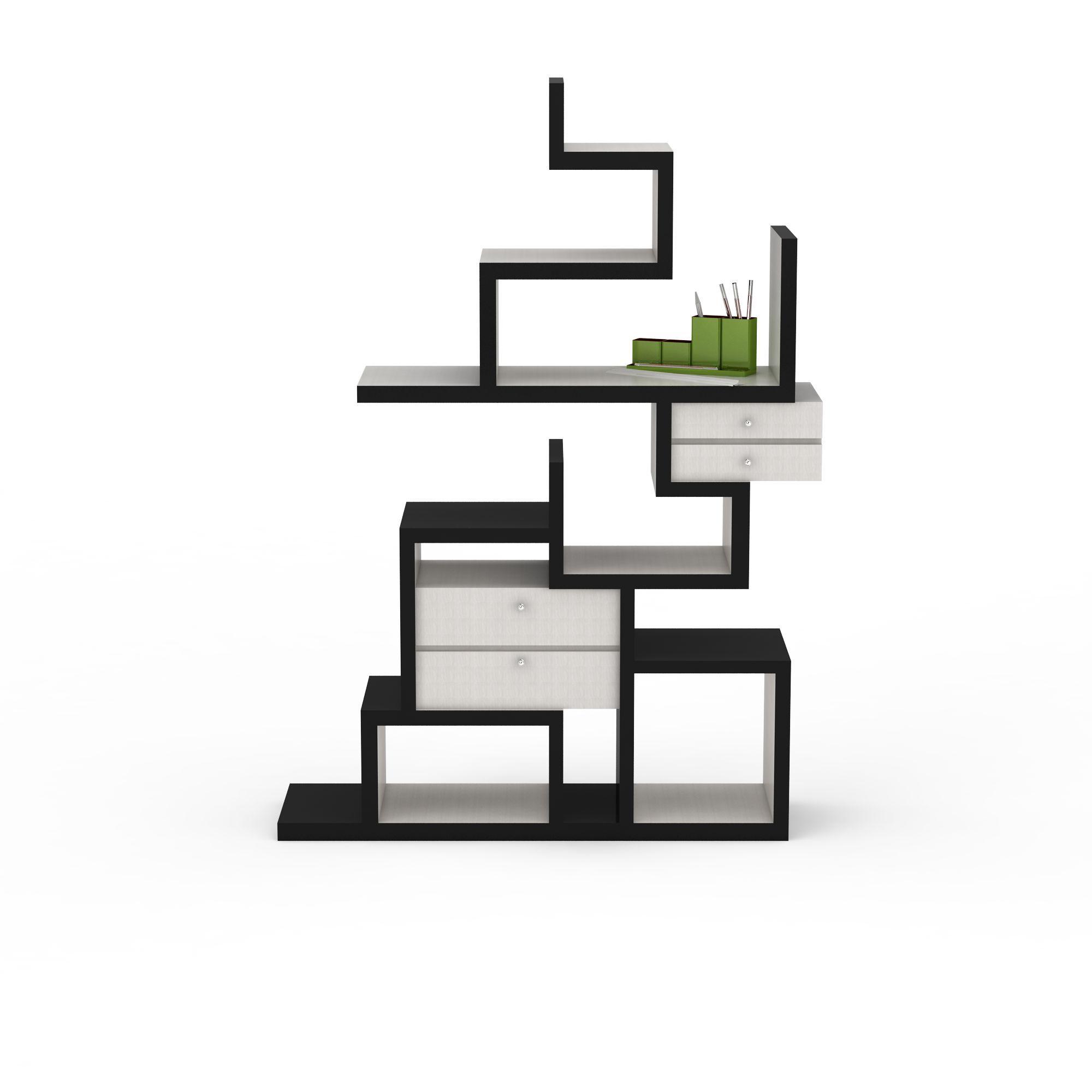 家具组合 柜 创意书柜3d模型 创意书柜png高清图