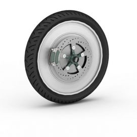 <font class='myIsRed'>自行车</font>车胎3d模型