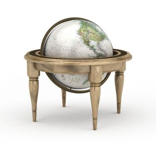 超大金属<font class='myIsRed'>地球</font>仪3d模型