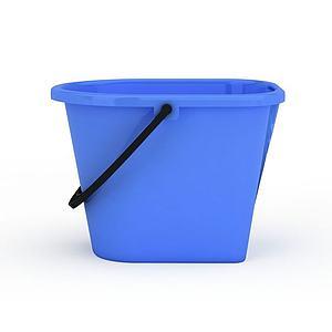 藍色水桶模型