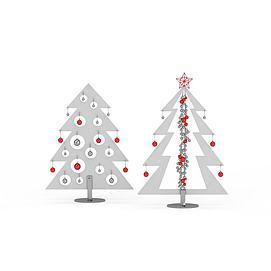 3d创意<font class='myIsRed'>圣诞树</font>摆设品模型