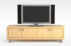 3d客厅<font class='myIsRed'>电视柜</font>模型