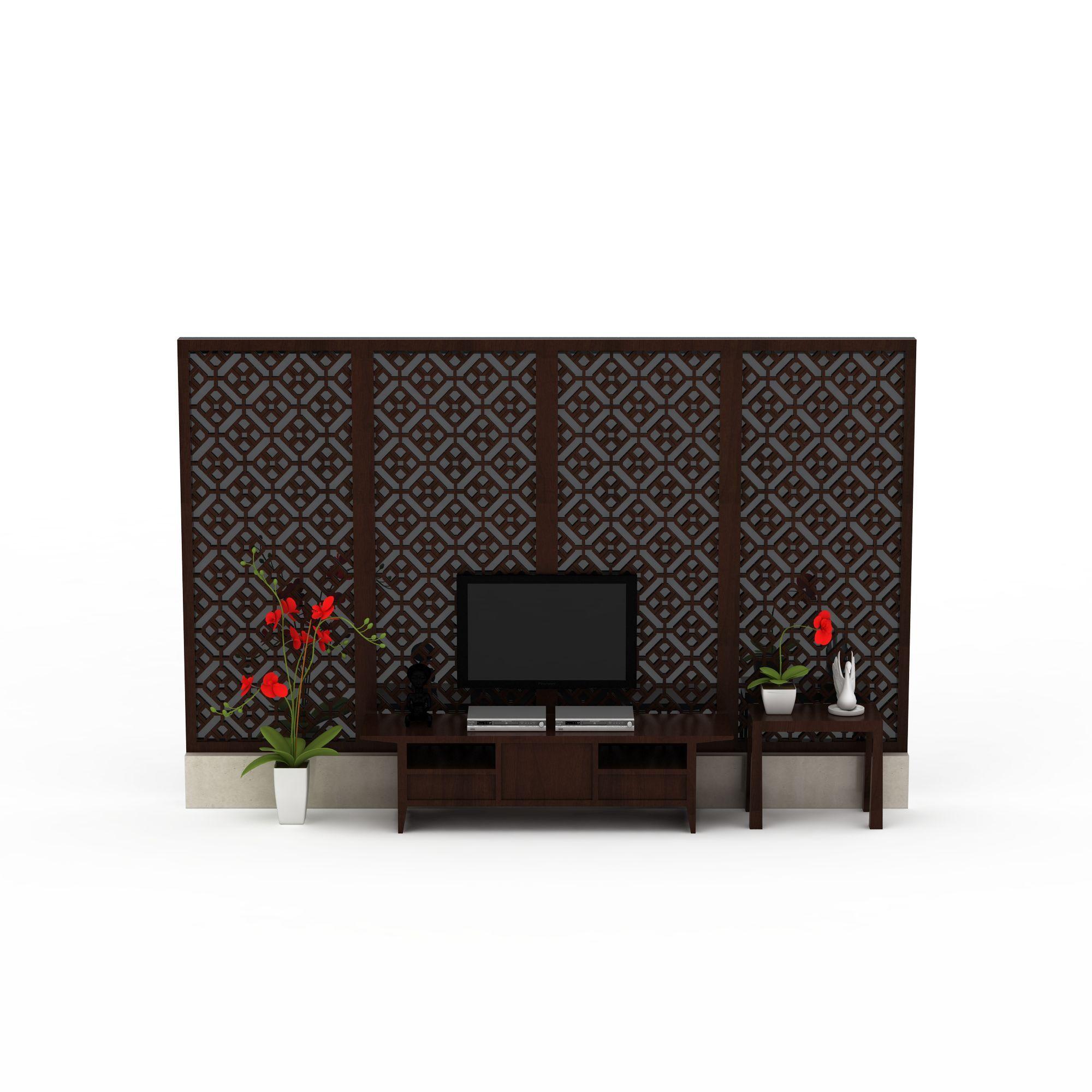 中式电视墙图片_中式电视墙png图片素材