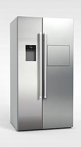 现代冰箱模型