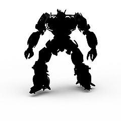 机器人摆件模型3d模型