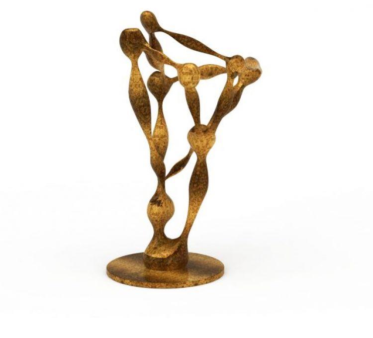 金属雕塑模型
