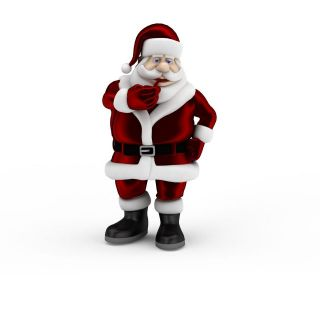 圣诞<font class='myIsRed'>老人</font>3d模型