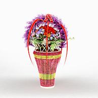 编织花篮礼品3D模型3d模型