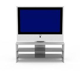 液晶<font class='myIsRed'>电视机</font>3d模型