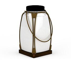 玻璃灯罩陈设品3d模型