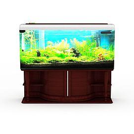 精美鱼缸模型
