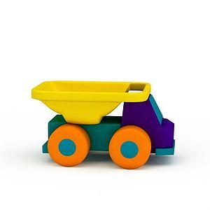 塑料玩具模型3d模型