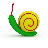 蜗牛玩具3D模型3d模型