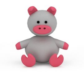 3d卡通<font class='myIsRed'>猪</font>模型
