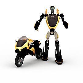 3d卡通<font class='myIsRed'>摩托车</font>模型