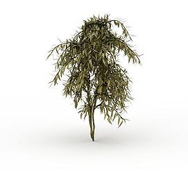 3d公园灌木模型