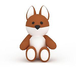 玩具小熊模型3d模型