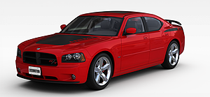 3d红色<font class='myIsRed'>小汽车</font>模型