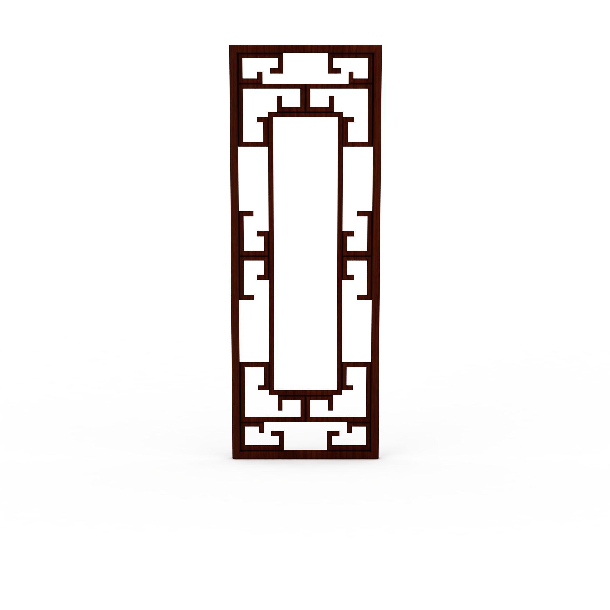 中式窗户高清图下载-走路的男人高清图下载