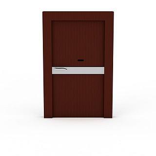 室内木门3d模型