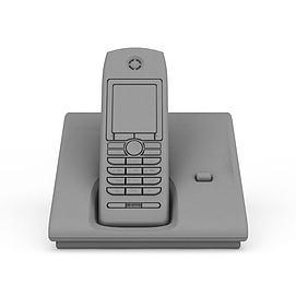 无线电话3d模型