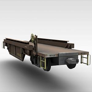 3d貨車<font class='myIsRed'>車架</font>模型