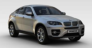 3d宝马汽车模型