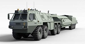 3d大型卡车模型