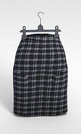 裙子<font class='myIsRed'>衣架</font>3d模型