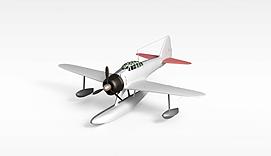 螺旋桨飞机3d模型