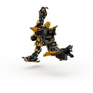 3d大黄蜂模型