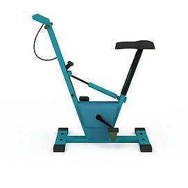 自行车健身器模型
