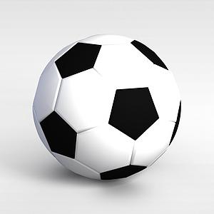 运动器材足球模型