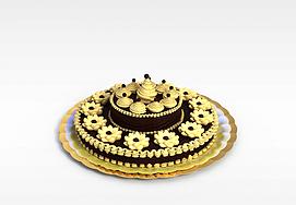 多层<font class='myIsRed'>蛋糕</font>3d模型