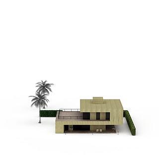 高档别墅3d模型