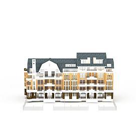 古罗马风格建筑3d模型