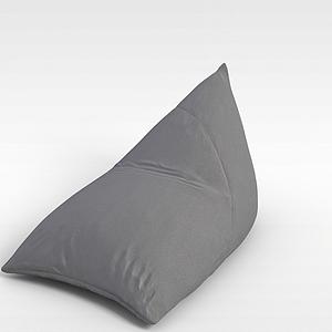 3d布藝沙發椅模型