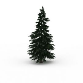 3d<font class='myIsRed'>圣诞树</font>景观模型